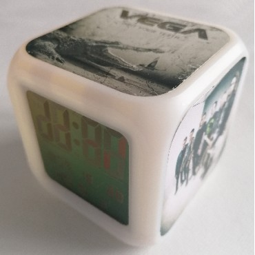 Grit Your Teeth digital alarm clock