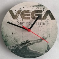 Grit Your Teeth wall clock